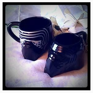 3D Star War Sculpted Ceramic Coffee/Tea Mugs Set